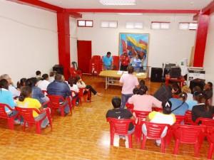 En una segunda asamblea convocada por la oficina de atención al ciudadano del ayuntamiento  se logró la elección del vocero de educación del CLPP Páez.