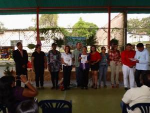 Las homenajeadas recibieron reconocimientos.