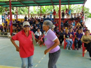 Para cerrar con broche de oro, agrupaciones musicales del Municipio Páez pusieron a la bailar a la Ruta Cimarrón.