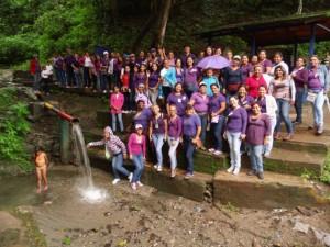 La Ruta de Cimarrones y Cimarronas visitó el Cerro San Antonio, conocido como Caramacate.