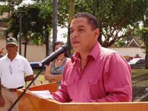 Ing. Carlos Puerta, alcalde de Páez, orador de Orden.