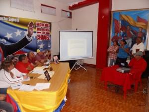 Consejos Comunales realizaron la exposición de sus proyectos ante el ejecutivo municipal.