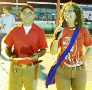 Celia Castillo, Coordinadora de Cultura del Municipio Páez.