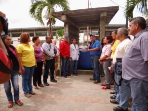Representantes de frentes sociales y voceros de Consejos Comunales recibieron la planta eléctrica para el ambulatorio Dr. José Francisco Díaz Rodríguez de Sabana de Parra