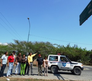 Las entradas de Sabana de Parra serán estratégicas para colocar cámaras de Televigilancia.