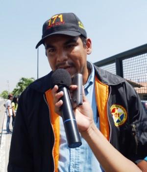 Alexis Guanipa jefe del servicio de televigilancia del sistema 171 Yaracuy