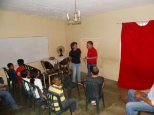 El alcalde Carlos Puerta participó en una mesa de trabajo con la directiva de fojisap.