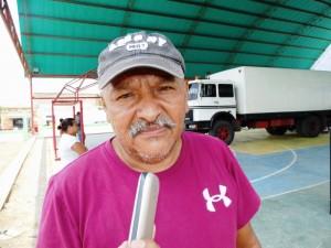 Federico Peroza, habitante de Sabana de Parra