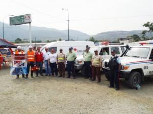 Diferentes organismos de seguridad participan en el operativo Semana Santa Segura 2014
