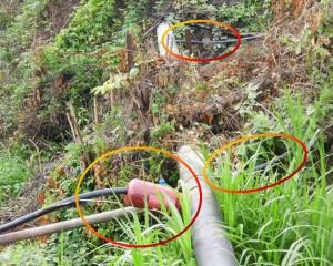 Algunas comunidades del este de Sabana de Parra se han conectado a la tubería matriz proveniente de Urachiche, lo que reduce la cantidad de agua que llega a la Capital Paence.