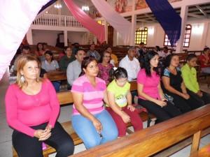 La Sesión solemne se llevó a cabo en la iglesia Ntra. Sra. del Rosario.