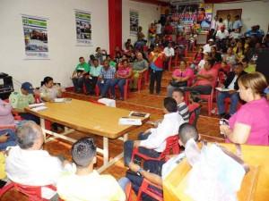 La asistencia de los voceros de los consejos comunales fue masiva