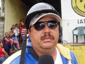 Nelson Medina, Mototaxista de Páez.