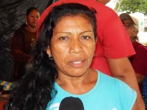 Yolanda Bracho, vocera del consejo comunal 22 de Septiembre