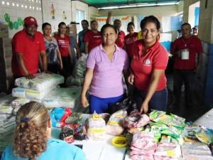 Mercal en la comunidad La Blanquera