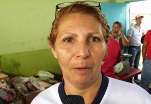 Nibea Rodríguez, vocera de alimentación del consejo comunal Gral. José Antonio Páez del sector Los Sin Techo