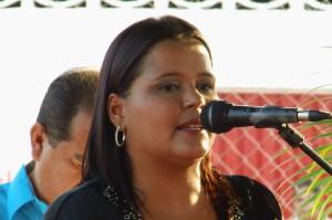 Prof. Daymar Rodríguez, presidenta del Concejo Municipal de Páez