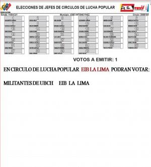 Círculo de Lucha Popular EIB La Lima