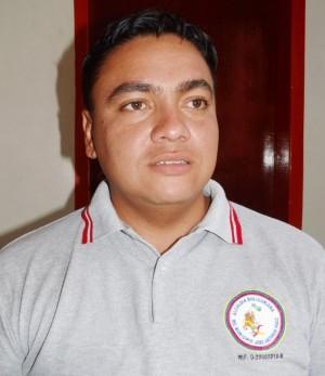 Abog. Jesús Oropeza, director de hacienda de la alcaldía de Páez.